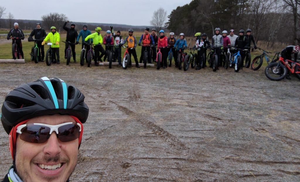 2016 Woolly Global Fat Bike Day Group Picture