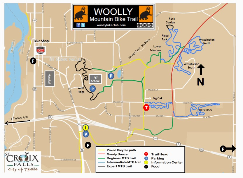 Woolly Summer Map